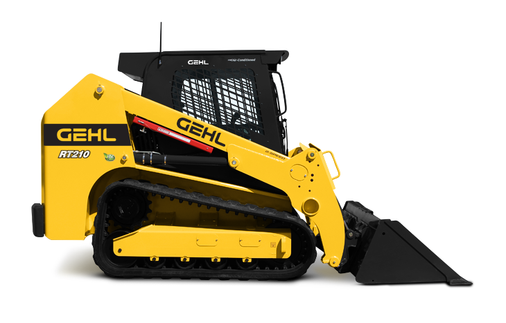 Gehl RT210 Compact Track Loader Performance