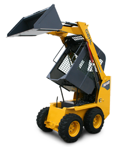 E Series Skid Steer Loader 1640E Service Access