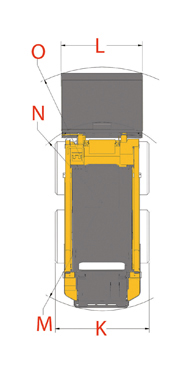 Gehl Skid Steer Loader Diagram 1640E Top View